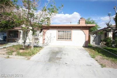 Las Vegas Single Family Home For Sale: 4352 Paramount Street