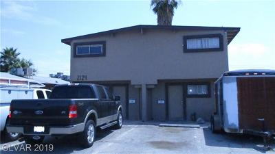 North Las Vegas Multi Family Home For Sale: 2124 Ellis Street