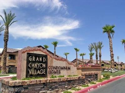 Centennial Hills Condo/Townhouse For Sale: 8250 North Grand Canyon Drive #2106