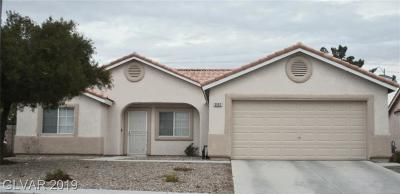 NORTH LAS VEGAS Single Family Home For Sale: 3002 Saddle Hills Court