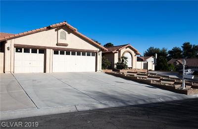 Las Vegas Single Family Home For Sale: 3167 Shadow Bluff Avenue