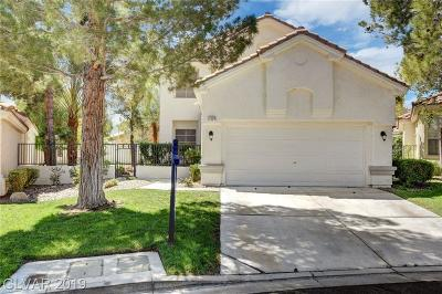 Las Vegas Single Family Home For Sale: 1324 Elk River Circle