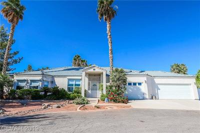 Las Vegas Single Family Home For Sale: 5835 Palm Street