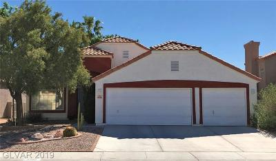 North Las Vegas Single Family Home For Sale: 4508 Whelk Place