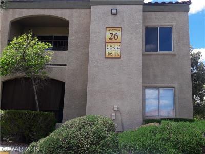 Las Vegas Condo/Townhouse For Sale: 7885 Flamingo Road #1172