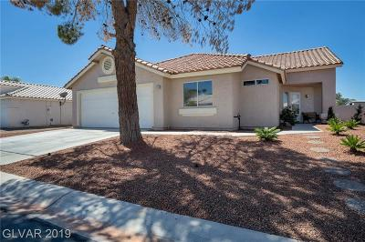 Las Vegas Single Family Home For Sale: 4753 Carefree Drive