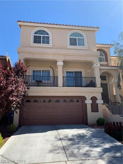Las Vegas Single Family Home For Sale: 6737 Bel Canto Court