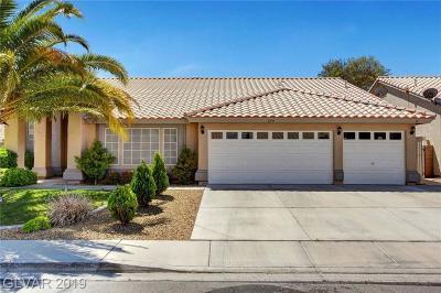 Las Vegas Single Family Home For Sale: 1779 Horizon Sunset Drive