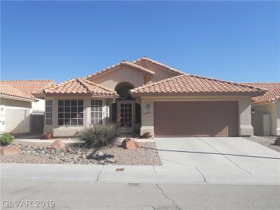 North Las Vegas Single Family Home For Sale: 1520 Blanco Drive