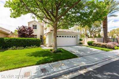 Las Vegas Single Family Home For Sale: 9265 Pitching Wedge Drive