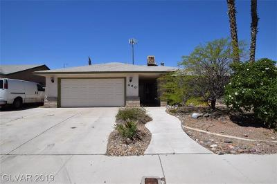 Las Vegas Single Family Home For Sale: 400 Huntly Road