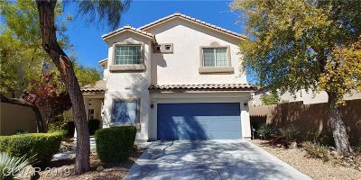 Las Vegas Single Family Home For Sale: 9341 Sea Captain Street