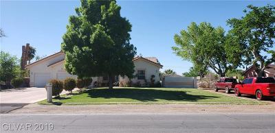 Las Vegas Single Family Home For Sale: 5597 Madre Mesa Drive