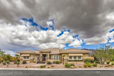 Las Vegas NV Single Family Home For Sale: $800,000