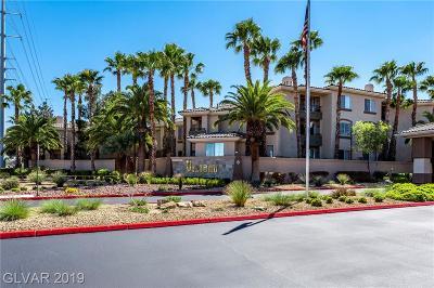 Las Vegas Condo/Townhouse For Sale: 7155 South Durango Drive #310
