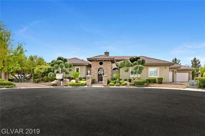 Single Family Home Under Contract - No Show: 8143 La Madre Way
