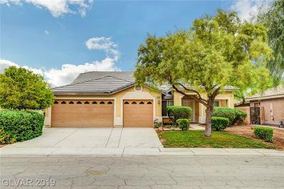 Las Vegas Single Family Home For Sale: 3940 Colonial Field Avenue