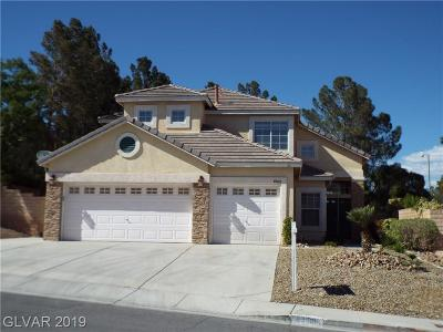 Las Vegas Single Family Home For Sale: 8560 Ocotillo Springs Circle
