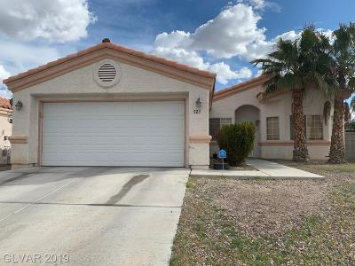 North Las Vegas NV Single Family Home For Sale: $250,000