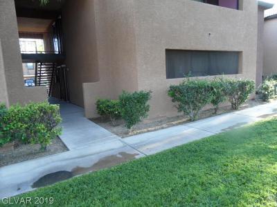 Las Vegas Condo/Townhouse For Sale: 2451 North Rainbow Bl Boulevard #1054