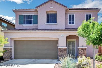 Las Vegas Single Family Home Under Contract - No Show: 7950 Lost Ranger Peak Street