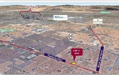 Las Vegas Residential Lots & Land For Sale: Rainbow