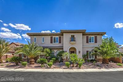 Henderson NV Single Family Home Under Contract - Show: $1,275,000