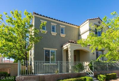Las Vegas Single Family Home For Sale: 7608 Vanity Court
