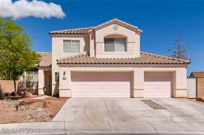 Las Vegas Single Family Home For Sale: 5312 Quail Rise Street