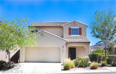 Henderson Single Family Home For Sale: 2644 Valbonne Terrace