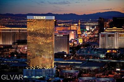 Trump Intl Hotel & Tower-, Trump Intl Hotel & Tower- Las, Signature At Mgm, Palms Place A Resort Condo & S, Vdara Condo Hotel, Platinum Resort Condo High Rise For Sale: 2000 Fashion Show Drive #3926