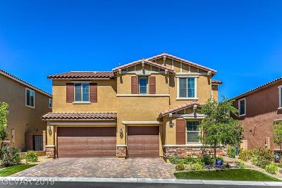 Las Vegas NV Single Family Home Under Contract - Show: $550,000