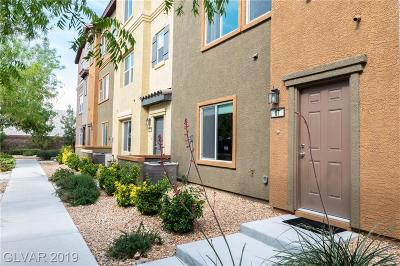 NORTH LAS VEGAS Condo/Townhouse For Sale: 4650 Ranch House Road #87