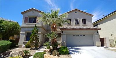 Las Vegas NV Single Family Home Under Contract - No Show: $390,000