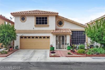Las Vegas Single Family Home For Sale: 3408 Prairie Meadow Street