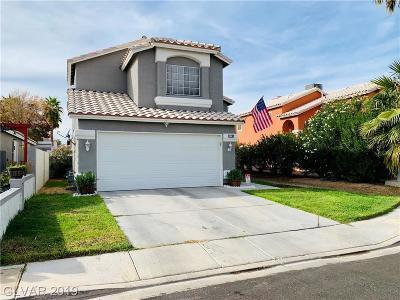 Las Vegas Single Family Home For Sale: 2287 Tuscarora Ct, Court