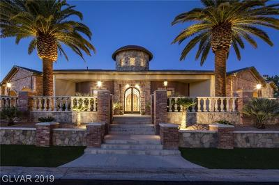 Clark County Single Family Home For Sale: 2908 Coast Line Court