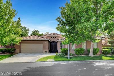 Southern Highlands Single Family Home For Sale: 10839 Bramante Drive