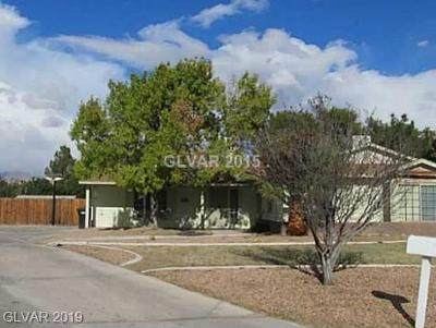 North Las Vegas Single Family Home For Sale: 4646 Wheatley Court