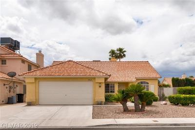 Las Vegas Single Family Home For Sale: 5909 North Waveland Drive