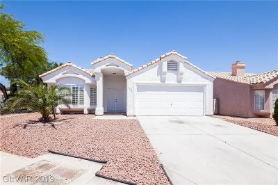 North Las Vegas Single Family Home For Sale: 1416 Indian Hedge Drive