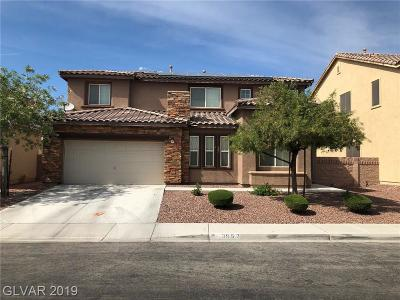 North Las Vegas Single Family Home For Sale: 3952 Recktenwall Avenue