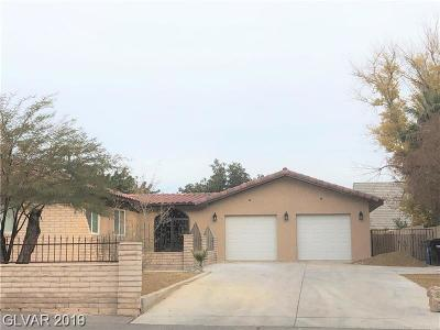 Las Vegas Single Family Home For Sale: 4310 Mountain View Boulevard