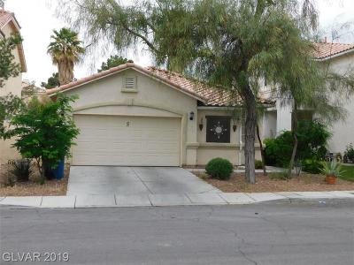 Las Vegas Single Family Home For Sale: 3645 April Springs Street