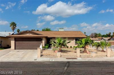 Las Vegas Single Family Home Under Contract - No Show: 5221 Gains Mill Street