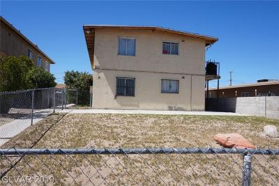 Henderson, Las Vegas Multi Family Home For Sale: 709 11th Street