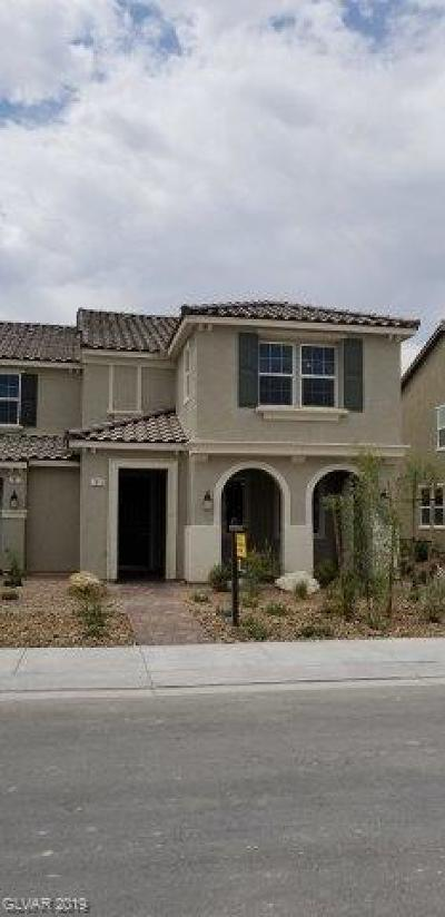 NORTH LAS VEGAS Condo/Townhouse Under Contract - No Show: 1013 Belton Lake