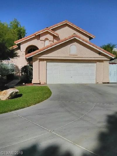Blue Diamond, Boulder City, Henderson, Las Vegas, North Las Vegas, Pahrump Single Family Home For Sale: 5617 Redquail Circle