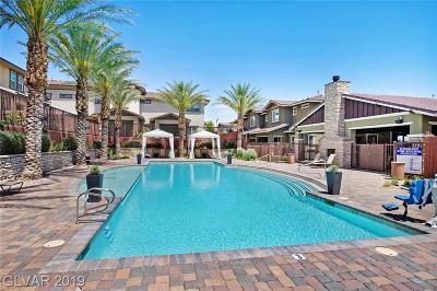 Las Vegas Condo/Townhouse For Sale: 10327 Pescado Lane