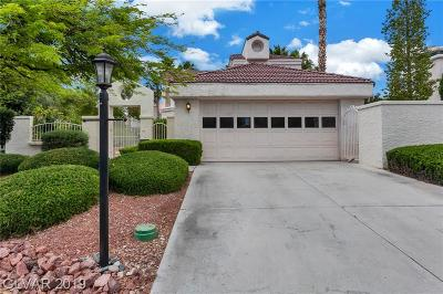 Las Vegas Single Family Home For Sale: 5229 Crooked River Circle